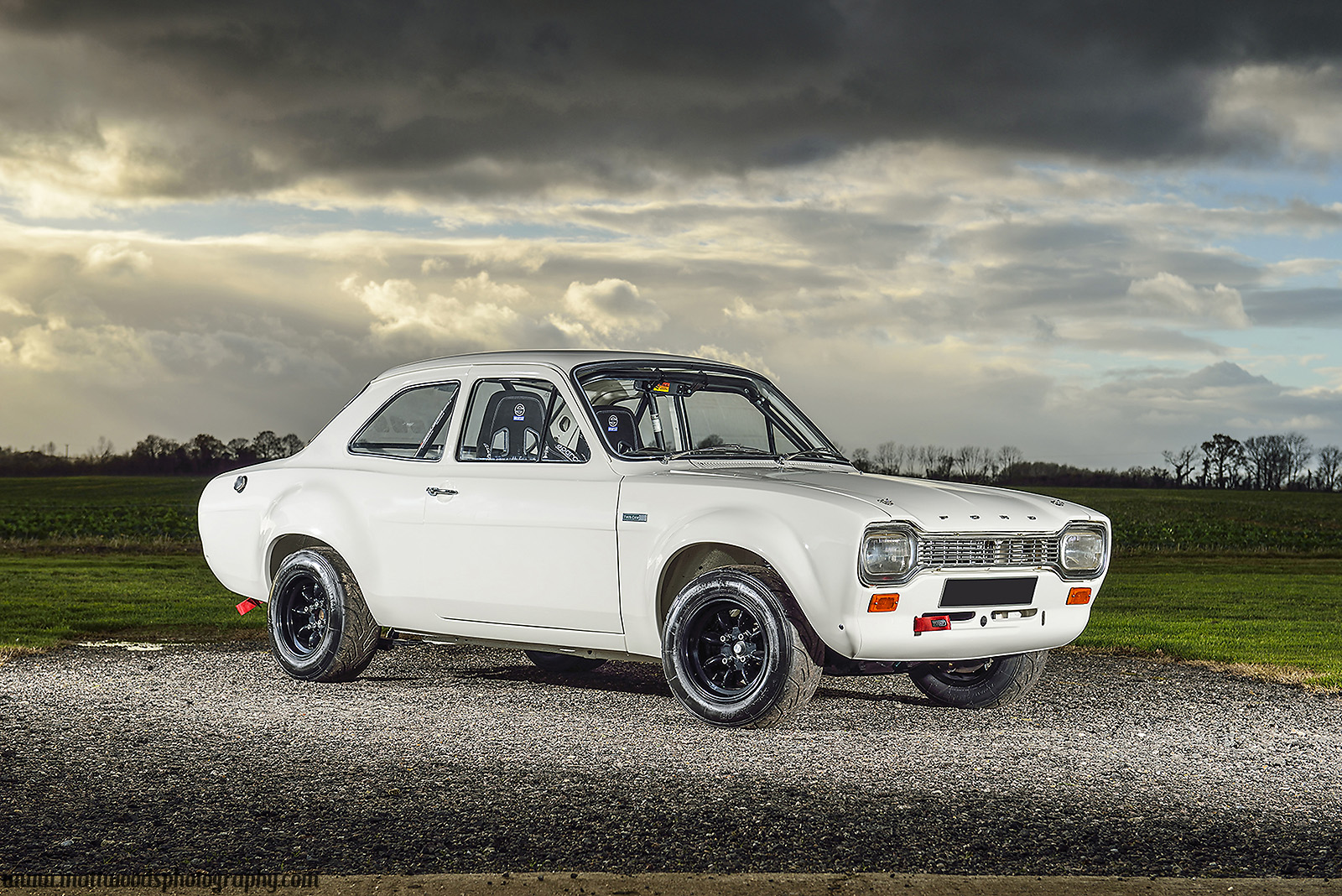 Classic Car Photoshoots on ford escort